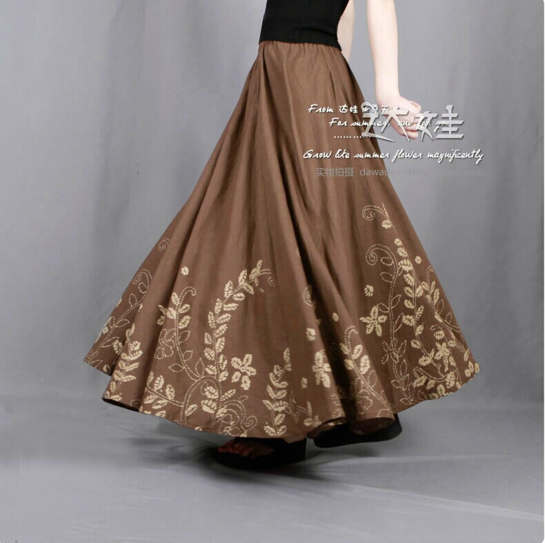Popular Long Linen Skirt-Buy Cheap Long Linen Skirt lots from ...