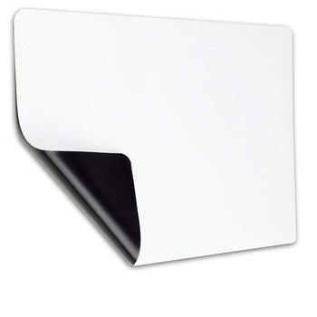 A3 Sloft magnetyczne łatwe wymazywanie biała tablica arkusz dla lodówka do kuchni z odporny na plamy technologii lodówka organizator Planner