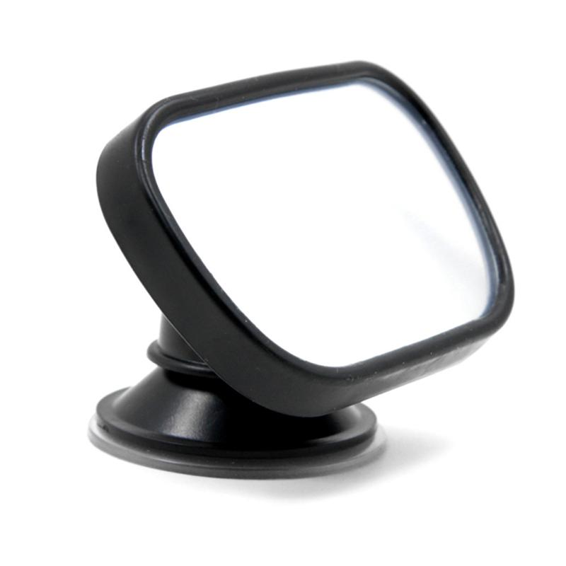 Adjustable Car Rearview Mirror Baby Safety Mirror Suction Clip-On Rear Seat for Babies Easy View