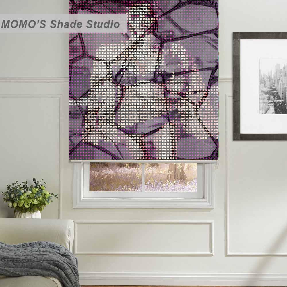 Momo Thermische Isolierte Blackout Stoff Benutzerdefinierte Malerei Kinder Fenster Rollos Jalousien Shutter Prb Set569 Haus & Garten
