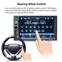 1 PC 6 6Inch Touchscreen In Dash Car 1080P Stereo Radio Mirror Link Mp5 Player Aux