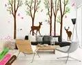 Съемный Детская силуэт дерева Книги по искусству Наклейки на стены Sweet Home номера Декор виниловые обои фрески Дис силуэтов бабочки Wm 580
