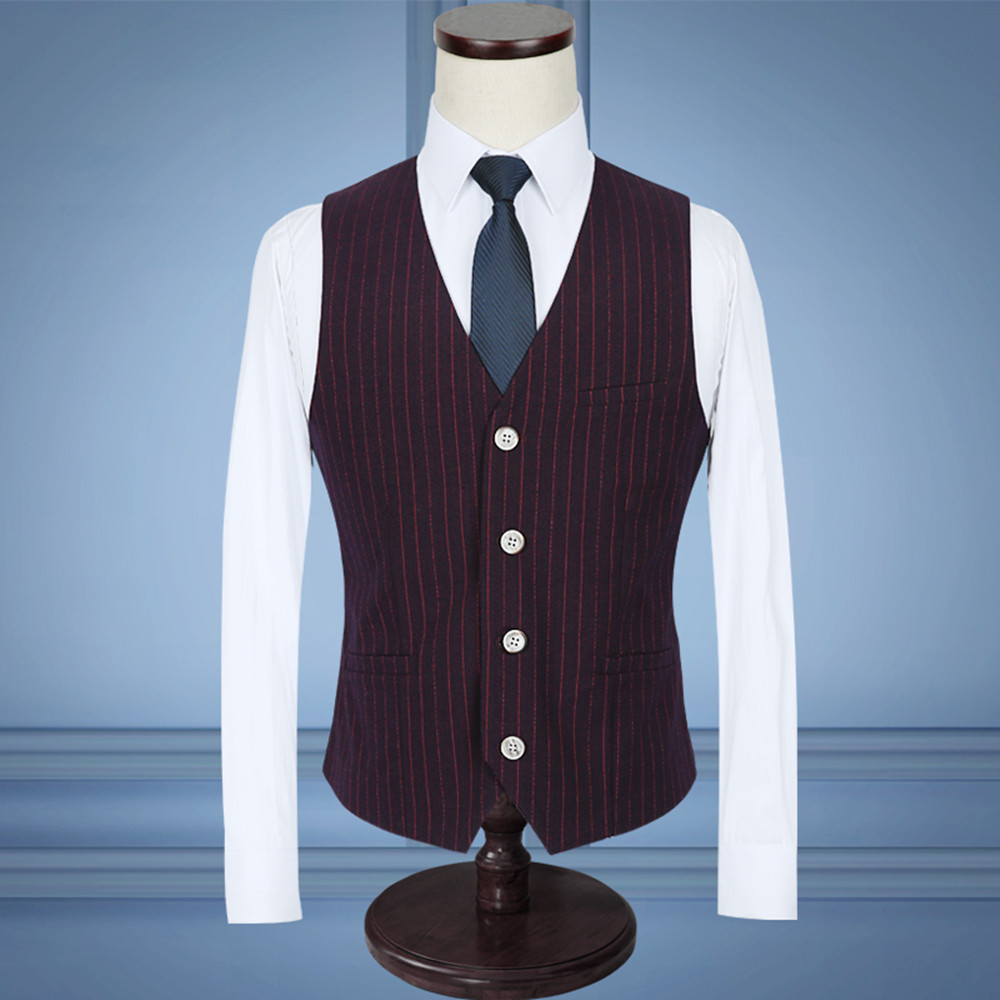 New 2017 Good quality striped Mens suits wedding groom fashion ...
