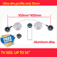 Ultra Slim LED Bracket 15 55 LED Tv Mount Tv Wall Bracket Tv Holder Free Shipping