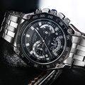 Longbo reloj 2017 reloj de cuarzo de acero de los hombres relojes de primeras marcas de lujo famoso reloj de pulsera de hombre reloj relogio masculino hodinky