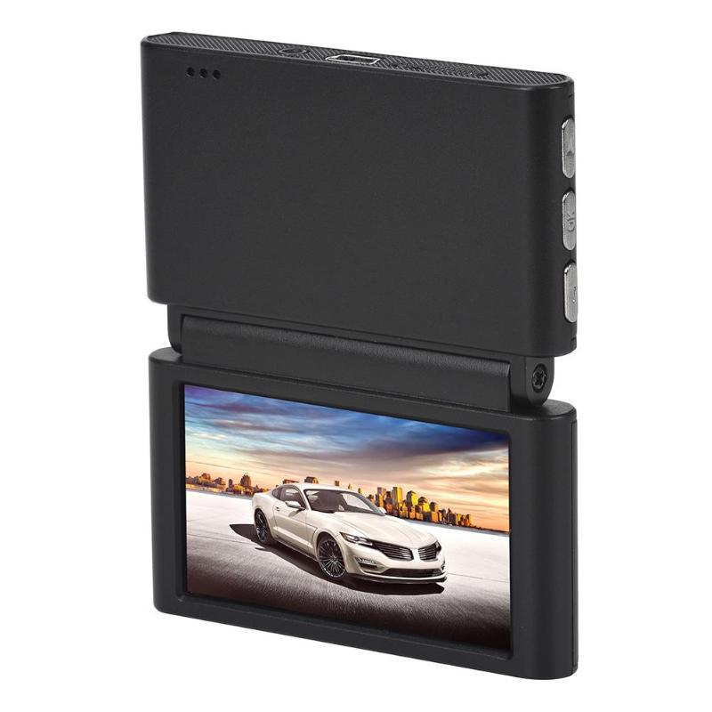 VODOOL 2.45 inch IPS Dual Lens 1080P HD Car DVR Wireless WiFi Foldable Vehicle Car Reversing Parking Video Recorder Dash Cam