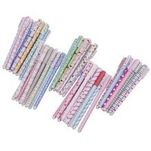 50 sztuk/partia kolor długopis długopisy żelowe Kawaii długopis Boligrafos Kawaii Canetas Escolar śliczne koreański biurowe śliczne hello kitty długopis żelowy