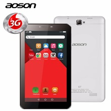 new!Aoson S7 7 Inch 2G 3G Phone Call Tablet pcs Quad Core Android 5.1 8GB PAD Dual SIM Dual Camera GPS WIFI Bluetooth 4.0 IPS