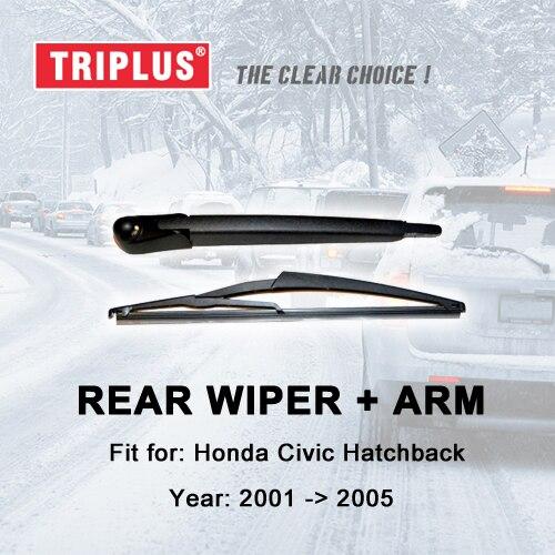 "HATCHBACK 12/"" 300MM REAR BACK WINDSCREEN WIPER BLADE 2005- FOR PEUGEOT 107"