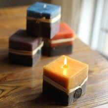 Кубическая форма свечи силиконовая форма DIY гипсовые поделки квадратная силиконовая форма для мыла смоляные формы