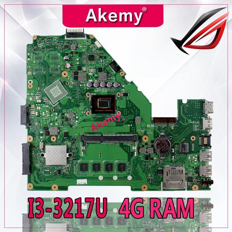 Akemy X550CA Laptop motherboard for ASUS X550CA X550CC X550CL R510C Y581C X550C X550 Test original mainboard 4G RAM I3-3217UAkemy X550CA Laptop motherboard for ASUS X550CA X550CC X550CL R510C Y581C X550C X550 Test original mainboard 4G RAM I3-3217U
