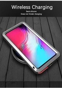 Image 4 - 삼성 갤럭시 s10 5g 케이스에 대 한 사랑 메이 충격 먼지 증거 방수 금속 갑옷 커버 삼성 갤럭시 s10 5g에 대 한 전화 케이스