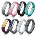 SimpleStone Stainless Steel Protective case Cover SmartWatch + Replacement Wrist Band Strap For Fitbit Flex  July27P30