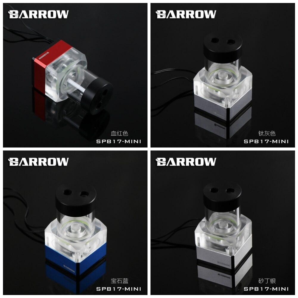 Barrow SPB17-Mini v2 LRC2 RGB Led PWM Water Cooling Pump 17W 960LBarrow SPB17-Mini v2 LRC2 RGB Led PWM Water Cooling Pump 17W 960L
