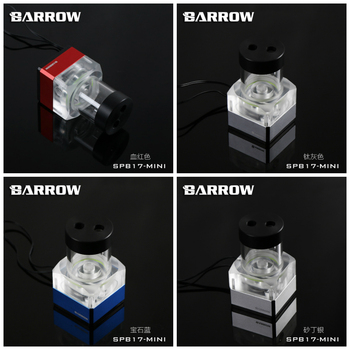 Barrow SPB17-Mini v2 LRC2 RGB Led PWM Water Cooling Pump 17W 960L