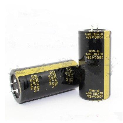 1x Electrolytic Capacitor 63V 10000uF Volume 30x40 mm 10000uF 63V