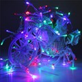 Colorful 30M 300 LED Fairy String Light Christmas Trees Romantic Party Wedding Decoration Light EU Plug AC220V