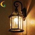 Ваниль Континентальный водонепроницаемый открытый бра старинные настенные светильники наружное освещение садовые фонари балкон сад свет