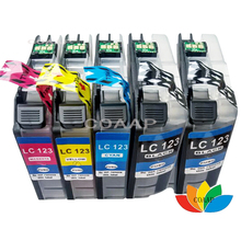 5 Compatible ink cartridge for Brother LC-125BK LC-125C LC-125M LC-125Y MFC-J4510DW MFC-J4610DW MFC-J4710DW MFC-J4410DW