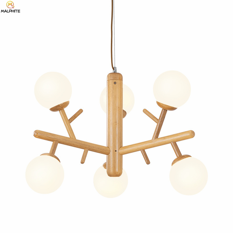 Nordic Woodwork Pendant Lights Modern Hanging Living Room Pendant Lamp Wood LED Decor Restaurant Hanglamp Lighting LuminaireNordic Woodwork Pendant Lights Modern Hanging Living Room Pendant Lamp Wood LED Decor Restaurant Hanglamp Lighting Luminaire