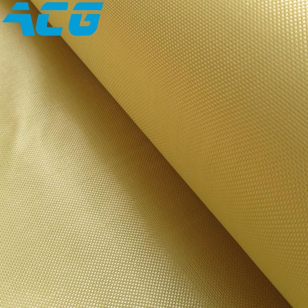 Tissu Kevlar 1500D haute résistance   Tissu aramide 220g, tissu uni résistant aux coupures, 10 m/lot