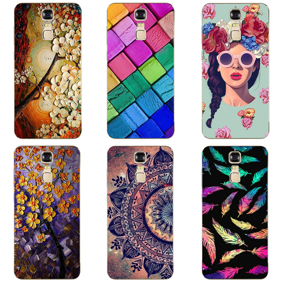 For Zte Blade A610 Plus Case Soft TPU Silicone Drawing Back Cover For Zte Blade A610+ A2 Plus 5.5 inch Phone Coque Capa