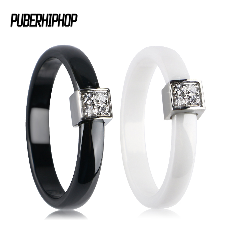 2018 3MM Width Smooth Ceramic Rings for Women Pink Black White Thin Pick Ceramic Rings Unique Wedding Engagement Rings Jewelry big crystal rings black white smooth ceramic rings with bling big transparent rhinestone women fashion jewelry rings for women