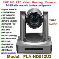 En Yeni Geniş Açı 12X USB3.0 HD Video Konferans Toplantı Kamera Onvif Tele-eğitim Için Kullanın, Ders Yakalama, Webcasting sistemi