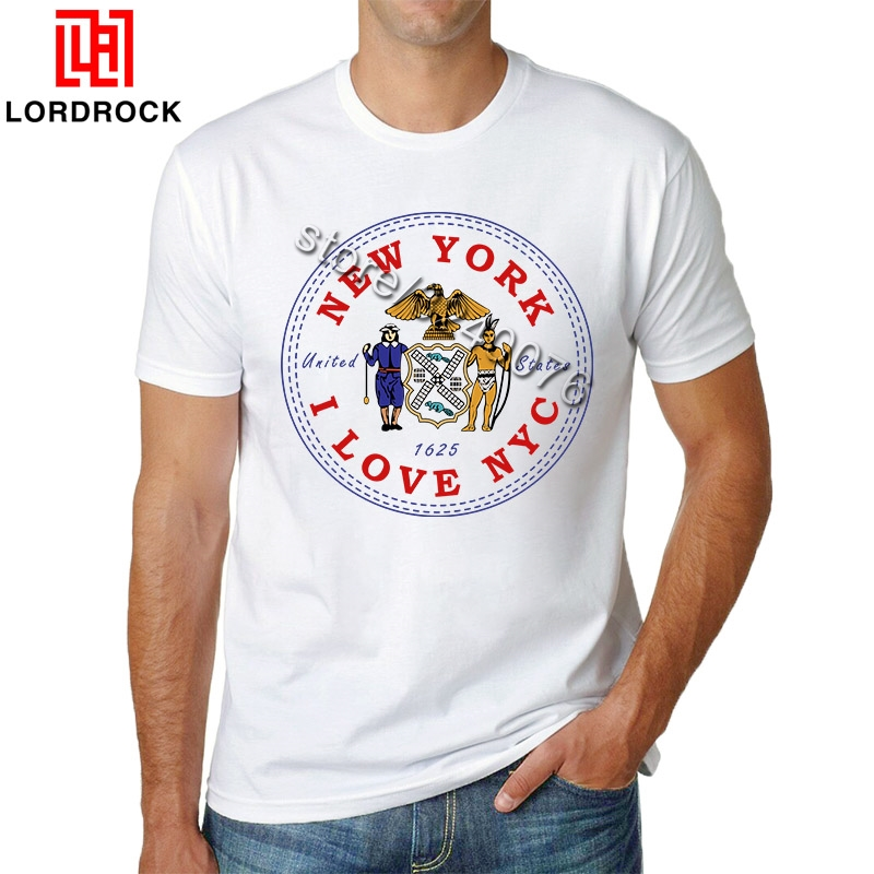Brand Designer Idea <font><b>I</b></font> <font><b>Love</b></font> NYC T <font><b>Shirt</b></font> Men's Short Sleeves NYC Casual T-<font><b>shirt</b></font> <font><b>NY</b></font> Boyfriend Tee Gift New York City Graphic image