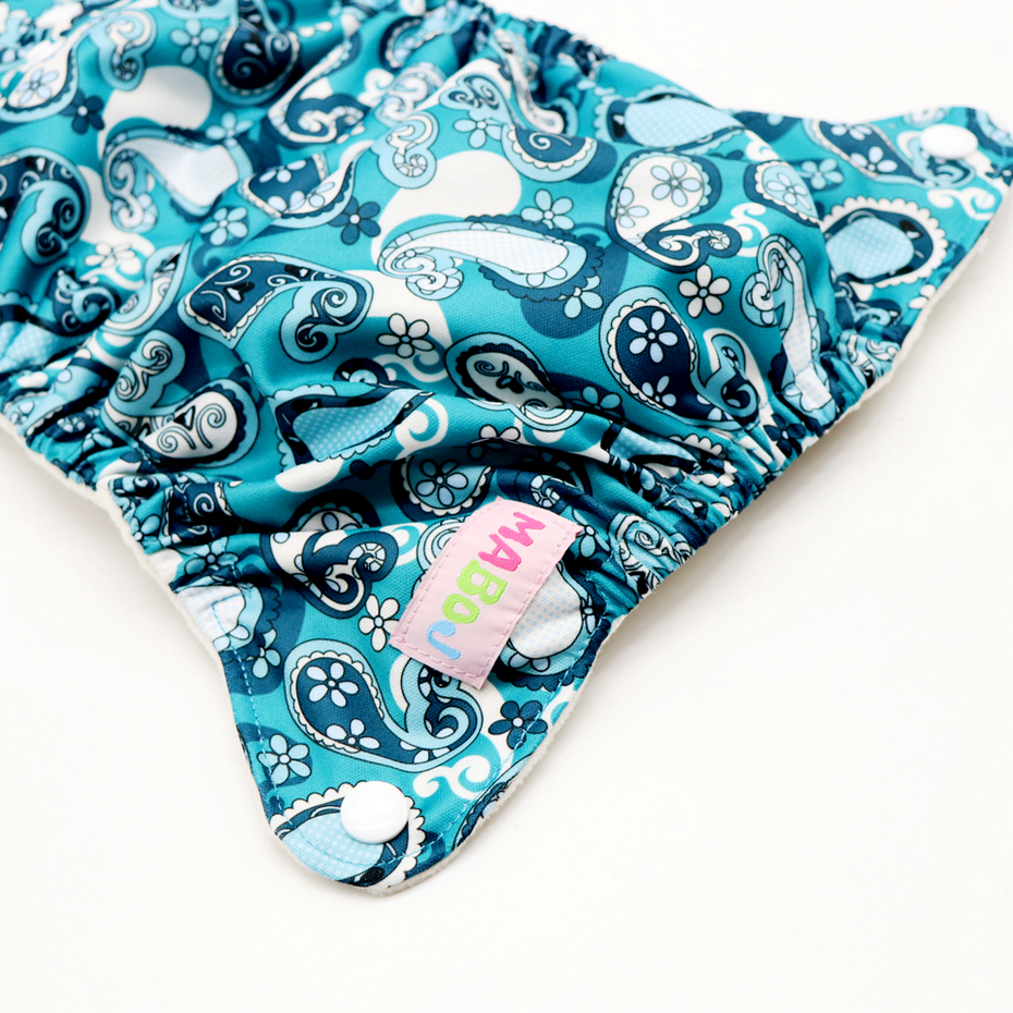 MABOJ Cloth Diaper Newborn AIO Stay dry Solution Waterproof Comfortable Washable Reusable No Leak Wholesale in Baby Nappies from Mother Kids