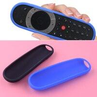 Черный/синий силиконовый инфракрасный ТВ Bluetooth Голосовое управление дистанционный Чехол протектор подходит для Sky Q Touch