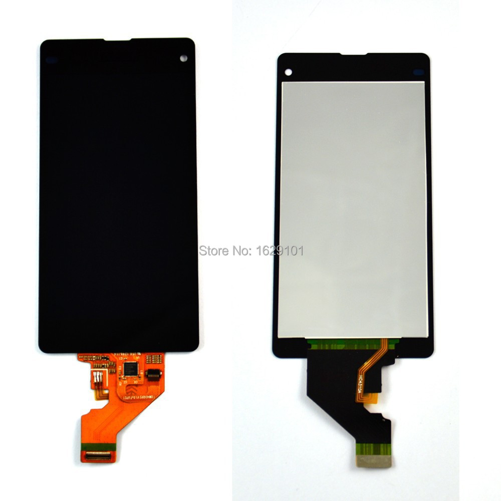 ФОТО Black High Quality For Sony Xperia Z1 Mini Compact Z1c M51w D5503 Full LCD Display Touch Screen Digitizer Assembly