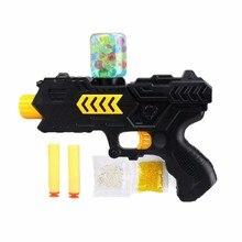 Пейнтбол Мягкий водяной пистолет Ева пуля + вода бомбы двойного назначения пистолет всплески Кристалл игрушка Стрельба CS игры оружие
