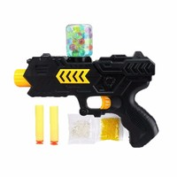 1 Pcs Paintball Soft Gun Water Gun Eva Bullet Water Bomb Dual Purpose Pistol Bursts Of