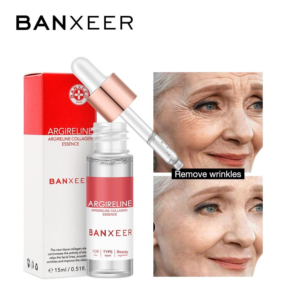 BANXEER Eye Serum Dropper Bottle Anti-Puffiness Improve Wrinkles Dark Circles Eye Serum Cream Anti-Aging Moisturizing