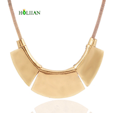 Hot women collar choker new vintage gold silver plated african necklace&pendants egyptian accessories collier collares bijoux