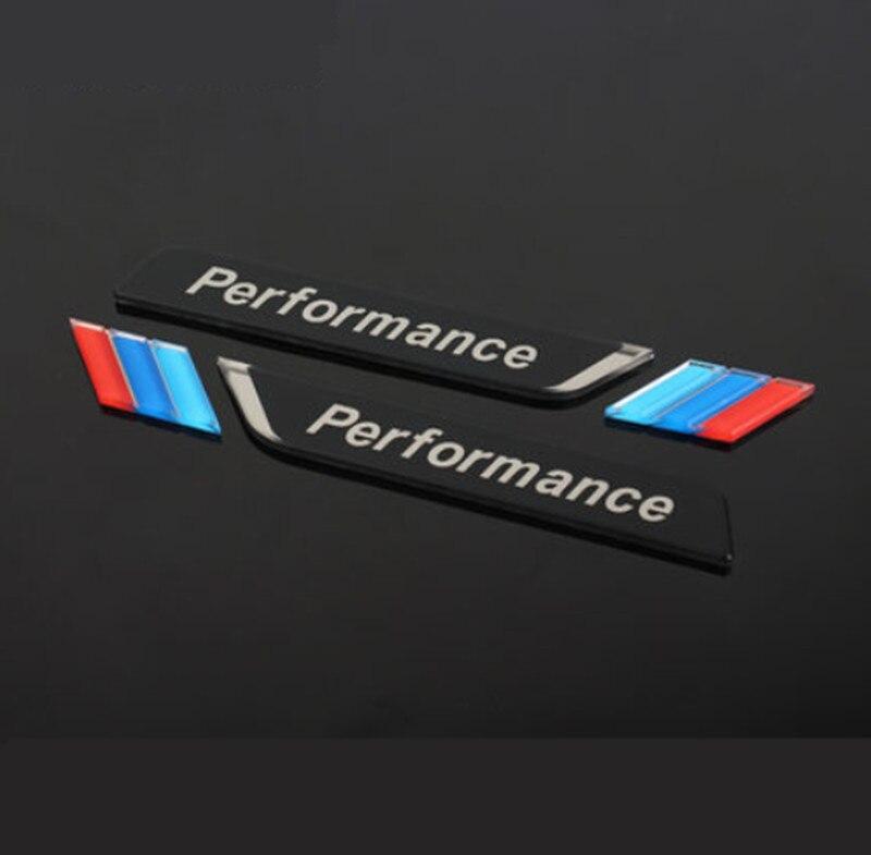 Акриловая наклейка для автомобиля, наклейка с эмблемой для BMW M 1 3 4 6 7E ZX M3 M5 M6 Mline, стильные аксессуары, 2 шт.
