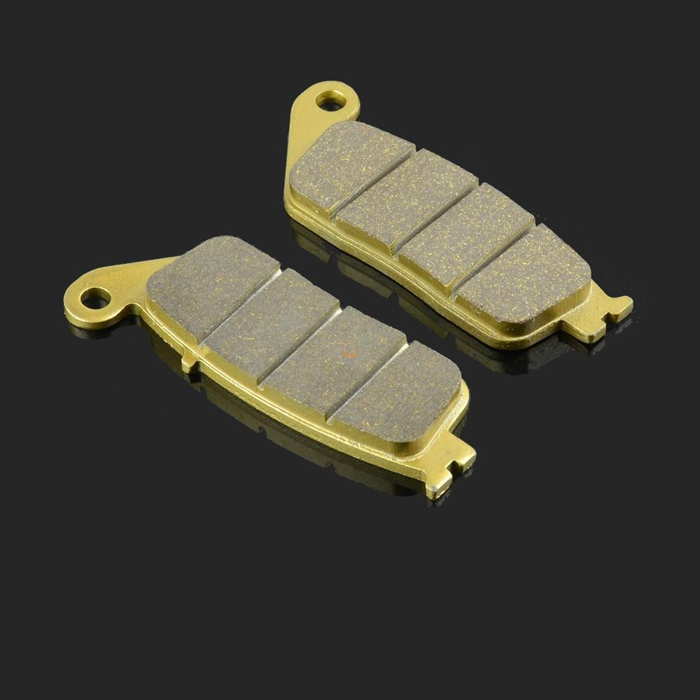 Motorcycle Rear Caliper Brake Pads For HONDA FJS400 SW-T400 FJS600 SW-T600 DN-01 NC750 VFR750 CBR1000 ST1100 CTX1300 GL1500 motorcycle below down brake caliper pump for gsxr600 750 06 10 gsxr1300 08 12 bking 1300 08 12 gsr400 06 08 gsr600 2006 2010