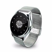 UWATCH NEUE K88H puls Smart Uhr 1,22 Zoll IPS Runden Bildschirm Unterstützung Pulsmesser Bluetooth smartWatch Für IOS Android