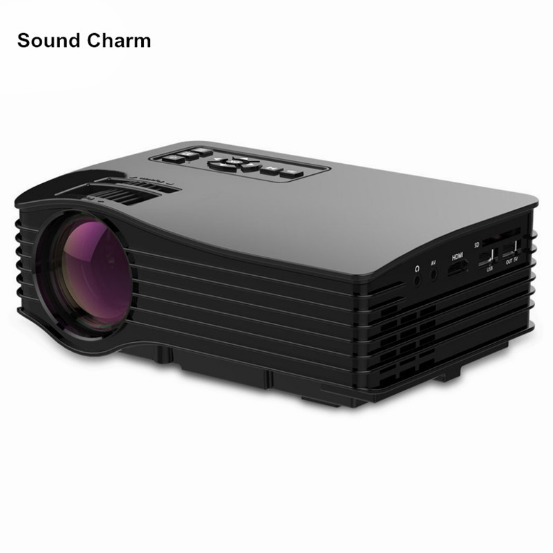 Sound charm Mini Home Theater Cinema Projector UC36 Portable Movie Video HDMI USB Proyector hd 640*480 Beamer hot selling