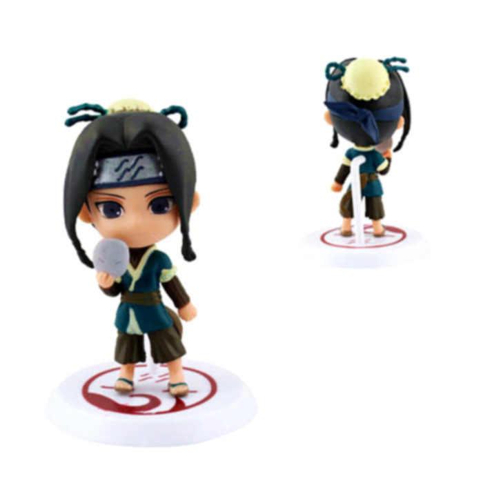 2019 novo 1 pc aleatório 6cm figura anime estatueta naruto brinquedo sasuke kakashi sakura gaara itachi madara assassino abelha figura modelo boneca