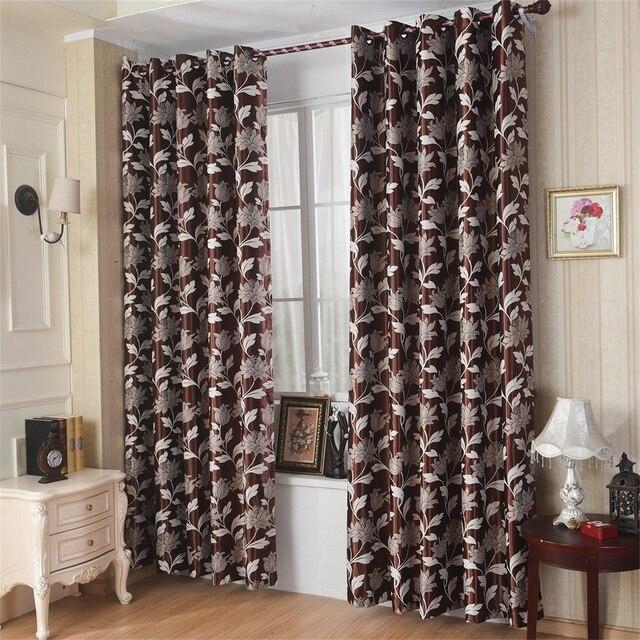 Aliexpress.com : Buy Jacquard curtains Yarn Dyed Window decoration ...