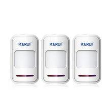 RU-stock 3pcs/Lot 433Mhz Wireless Intelligent PIR Motion Detector Door Sensor remote For 8218G G18 G19 Home Alarm System