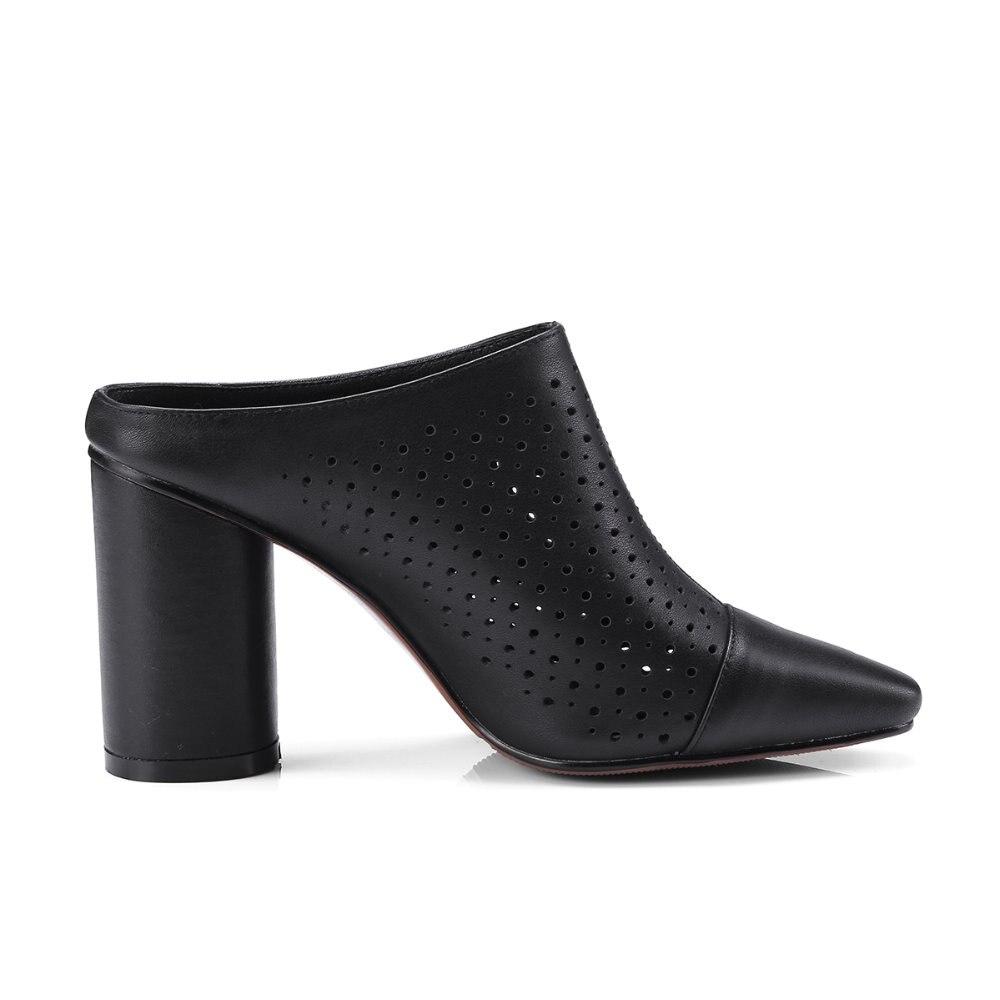 Ausschnitte S caramel Schuhe Mode Echtes Sandalen Hausschuhe Sommer Heels Frauen Ss007 High Leder Schwarzes Gummisohle Neue Romantik weiß HawqYHxrB