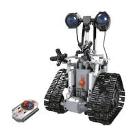 2019 MOC Technic Remote Control Electric RC Robots Building Blocks Set Bricks Classic Model Kids Toys Gifts