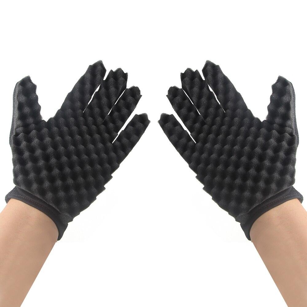 Neue Mode Haar Flechter Twist Schwamm Handschuhe Form Fir Afro
