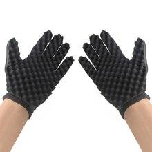 New Fashion Hair Braider Twist Sponge Gloves Shape Fir Afro Dreadlocks Curl Brus
