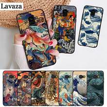 Lavaza Japanese style Art Japan Silicone Case for Samsung A3 A5 A6 Plus A7 A8 A9 A10 A30 A40 A50 A70 J6 A10S A30S A50S(China)