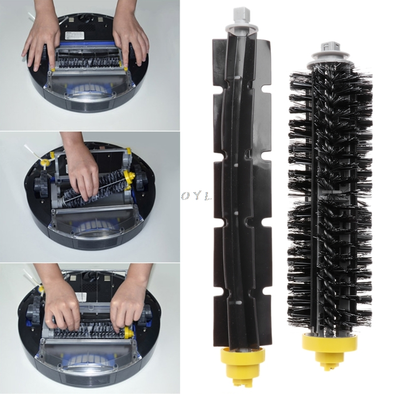 2Pcs/Set Brush For iRobot Roomba 600 700 Series Vacuum Cleaner Parts Replacement Home Vacuum Cleaning Robot Accessory image