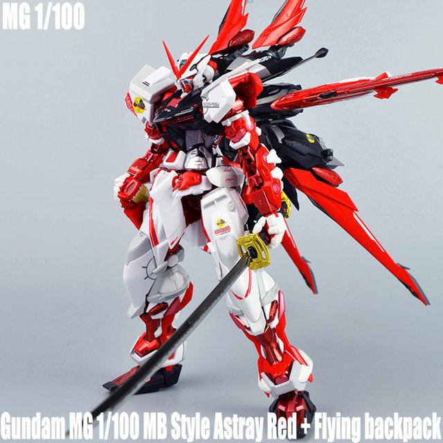 c6493d25733 DABAN 8806 Gundam MG 1 100 Ver MB Astray Red Frame + Flying Backpack action  figure plastic model kits toys